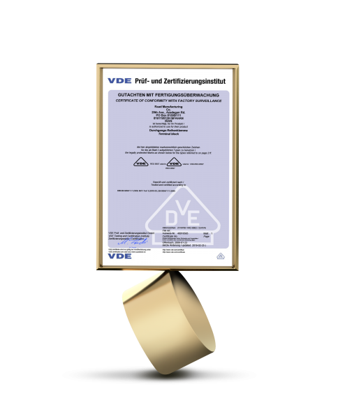 گواهینامه VDE آلمان